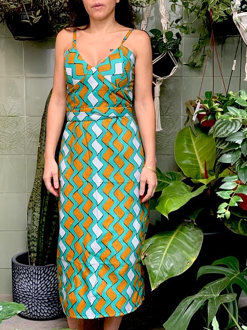 Vestido Cuba Verde