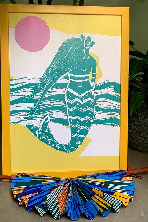 Print Sereia do Mar
