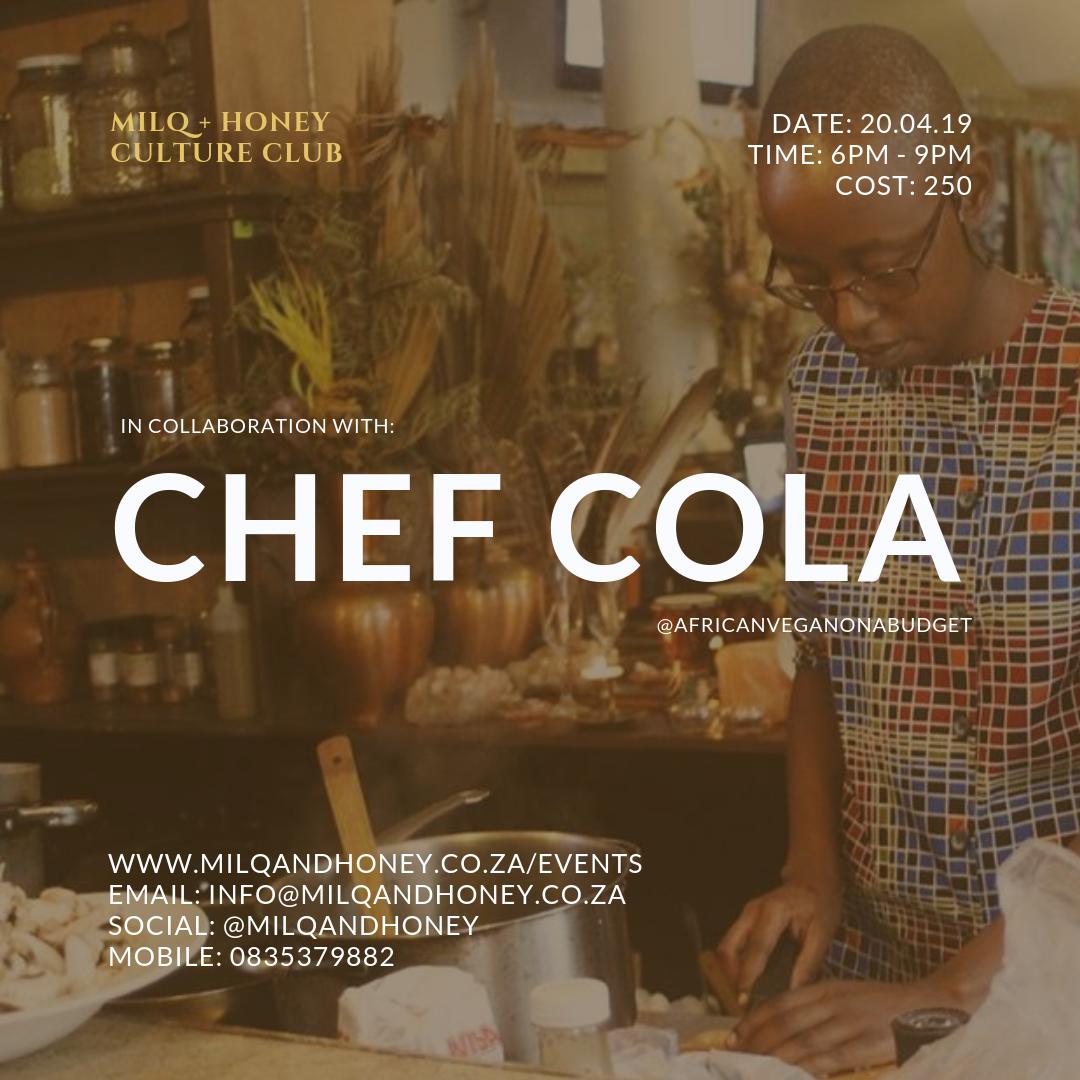 25.05.19   FOOD + EXP: CHEF COLA