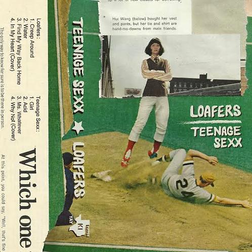 Loafers/Teenage Sexx- Split Cassette
