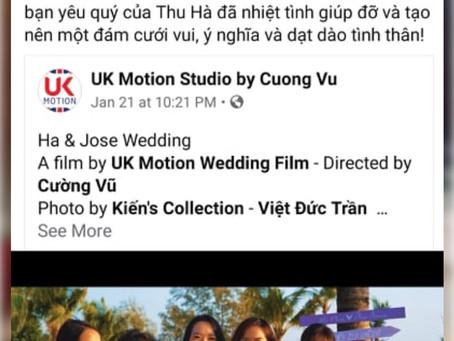Lý do thật về việc mình chọn ngành quay phim phóng sự cưới?