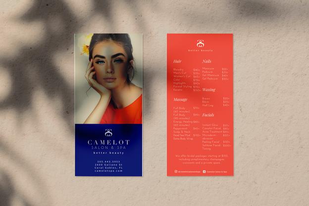 Camelot Logo & Menu