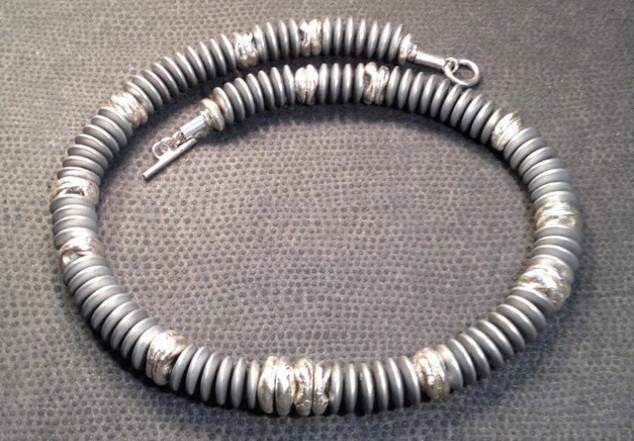 Millipede necklace.  £280