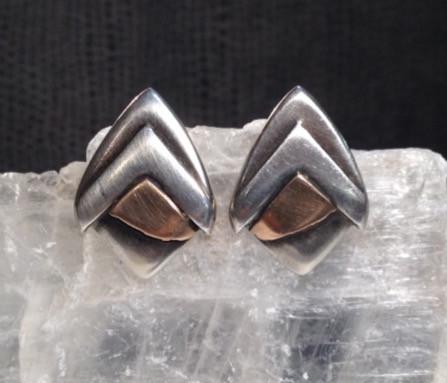 Deco earrings.  £150