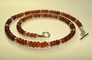Hesonite Garnet necklace.  £250