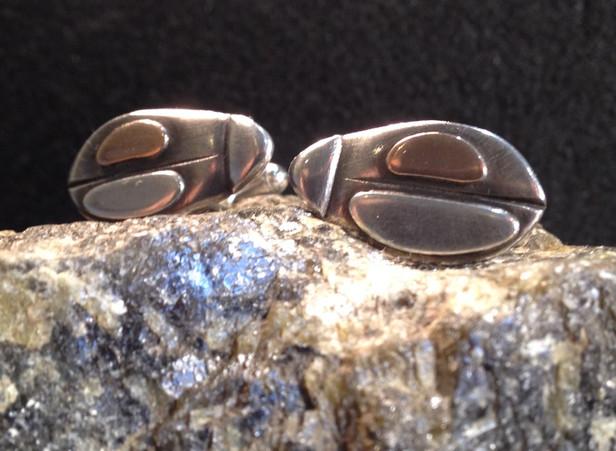 Beetle cufflinks.  £130