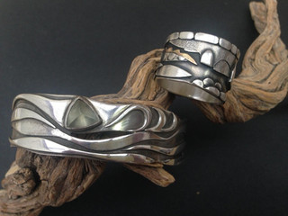 Cuff & ring. COMMISSIONS.