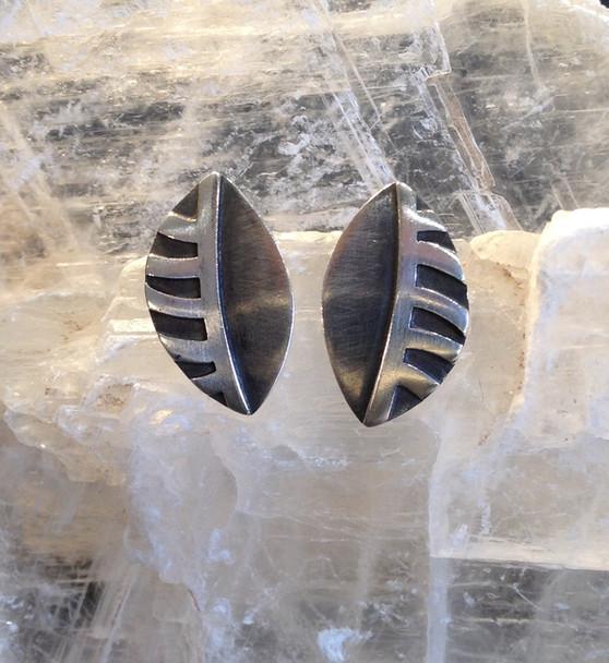 Leaf earrings.  £79