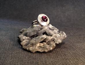 Small Tourmaline ring.  £150