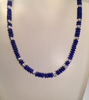 Lapis necklace.  £160