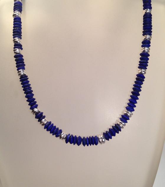 Lapis necklace.  £160.
