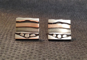 3 spot, layered earrings.  £130