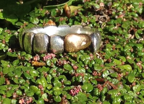 Caterpillar ring.  £195