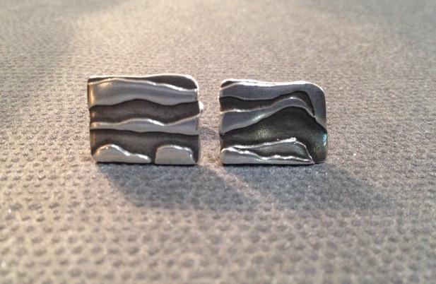 Clifftop cufflinks.  £95
