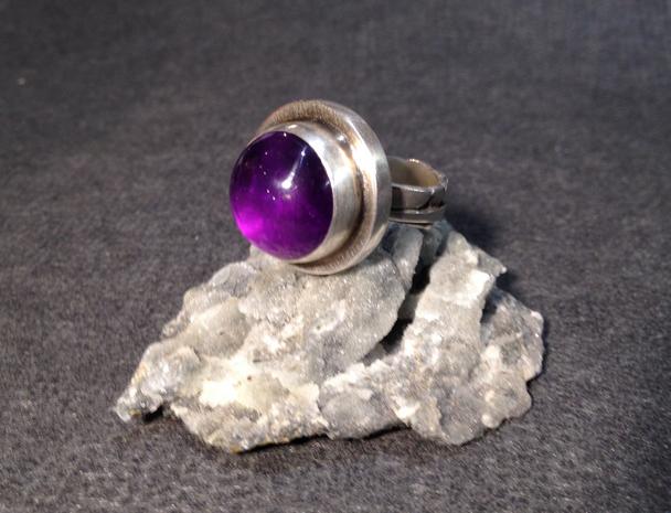 Amethyst ring.  £280