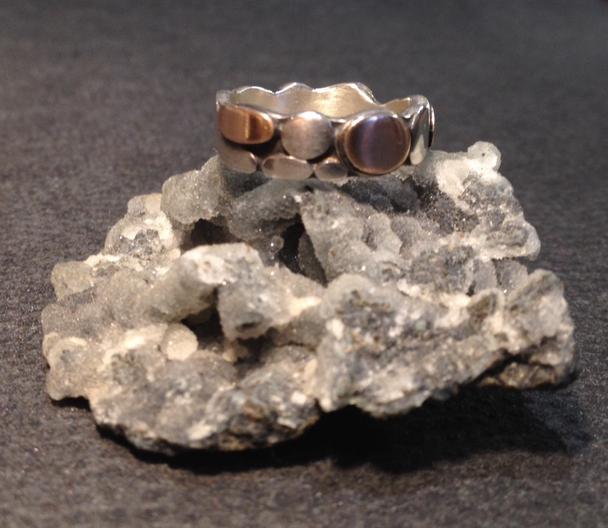 Pebble ring.  £225