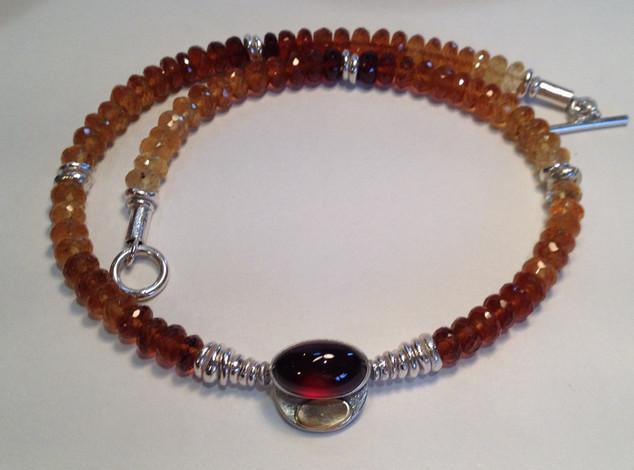 Burmese Amber necklace.  £380
