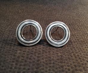Hoop earrings.  £79