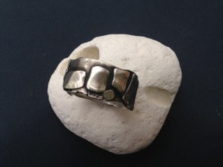 Stepping stone ring, commission.