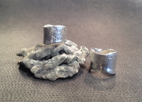 Reticulated silver ring  £98