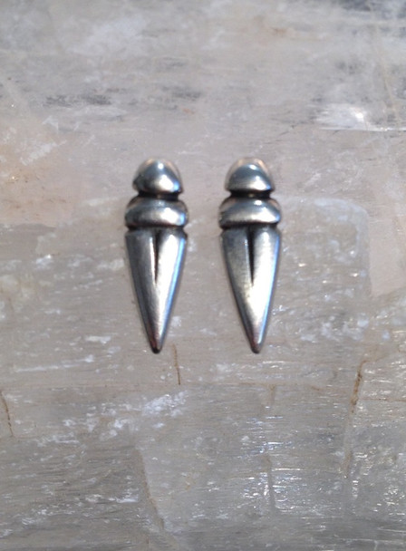 Small beetle studs, Sterling silver.  £39