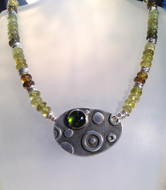 Spot necklace.  £425