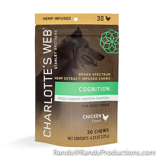 CW CBD Oil Dog Chews-Cognition