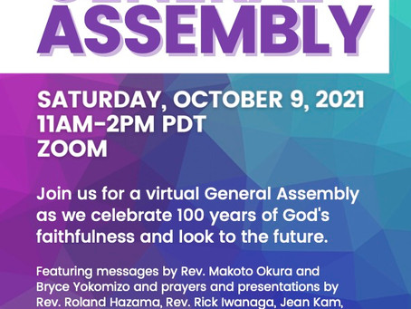 OMS Holiness Church of North America Virtual General Assembly