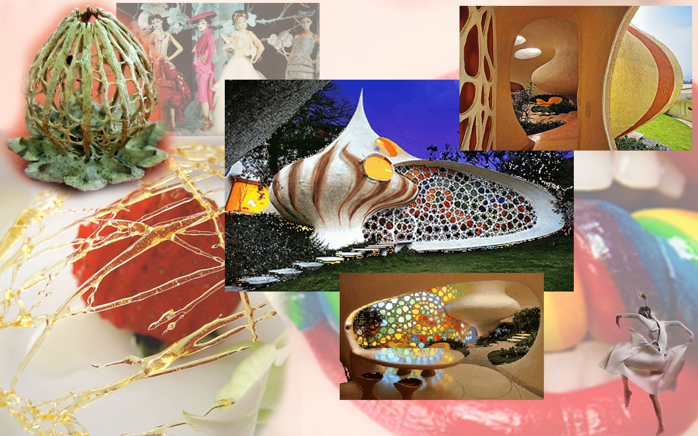 Gingerbread House Research Collage