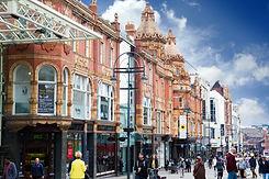 Briggate Leeds - Credit Hannah Webster .