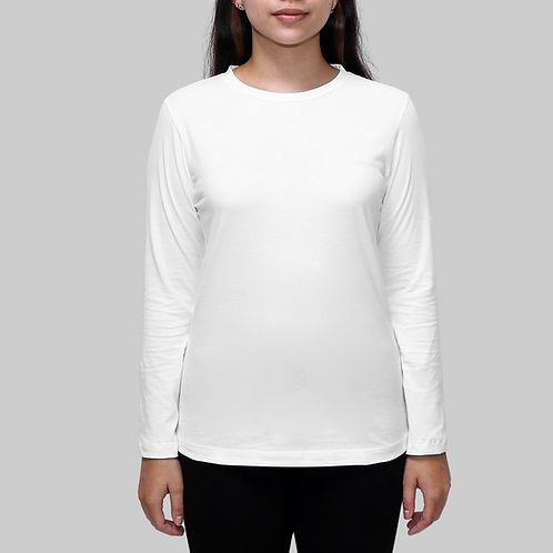 Sanur Long Sleeves Organic Cotton T-shirt
