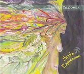Soul's Expression, Jennifer Bloomer's 2nd CD of all original music, blending jazz, pop, contemporary folk and classical.