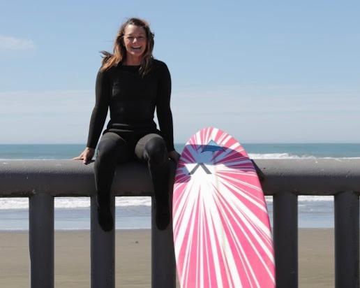 Big wave surfer Bianca Valenti