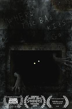 where the bad kids go sean elwood art monster demon ghost supernatural paranormal horror screenplay script short story