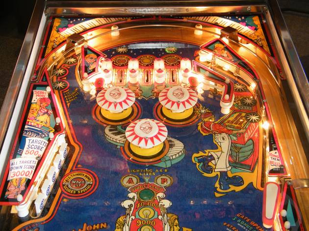 Captain Fantastic playfield by Bally 1976 (fully restored)
