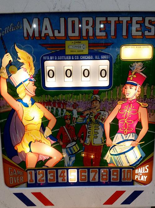 Majorettes (Gottlieb)1964