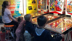 home pinball is (VERY MUCH) IN vogue