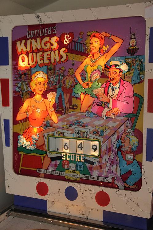 Kings & Queens (Gottlieb) 1965
