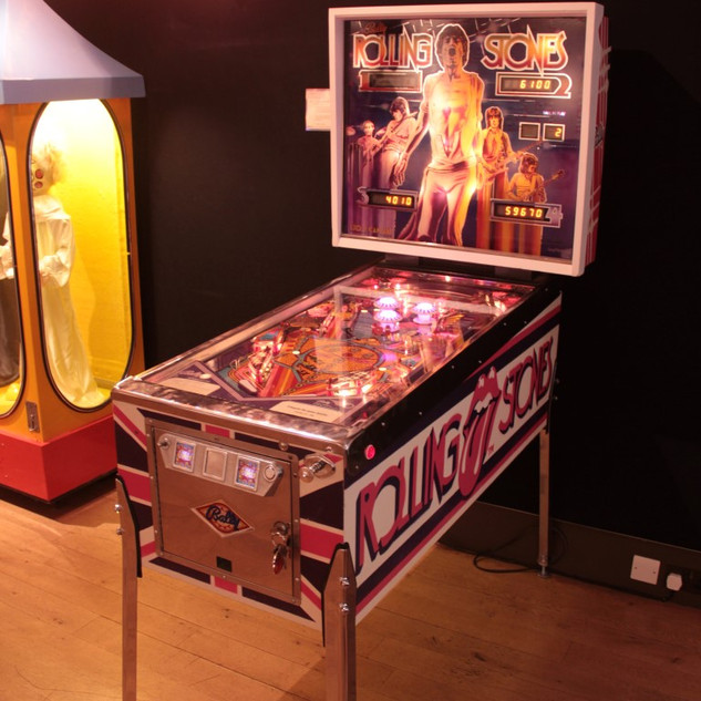 Rolling Stones pinball by Bally 1980 but with a difference