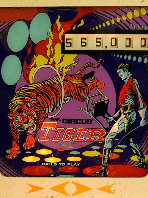 The Circus Tiger (Gottlieb) 1975/6