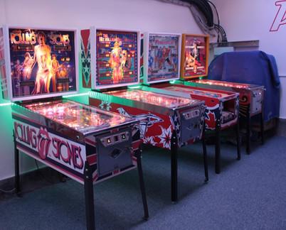 Pinball Creative showroom in 2015