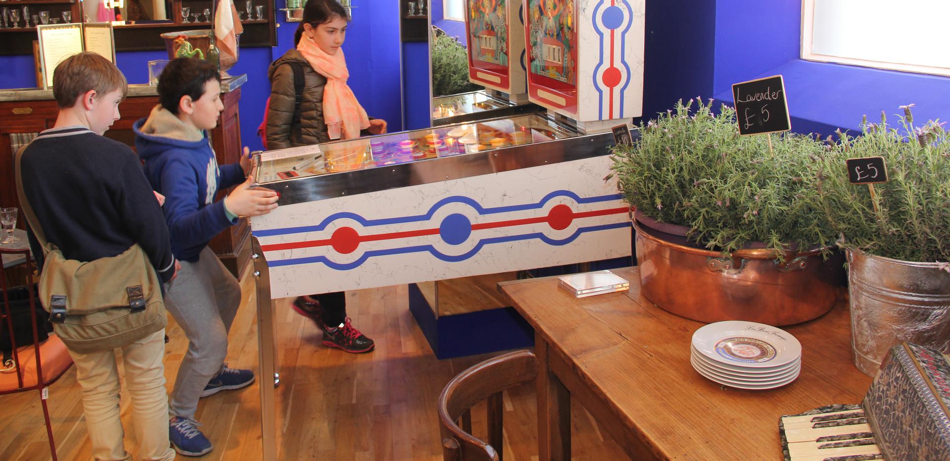 Gottlieb 1964 Gigi at the Conran Shop in Chelsea in 2015