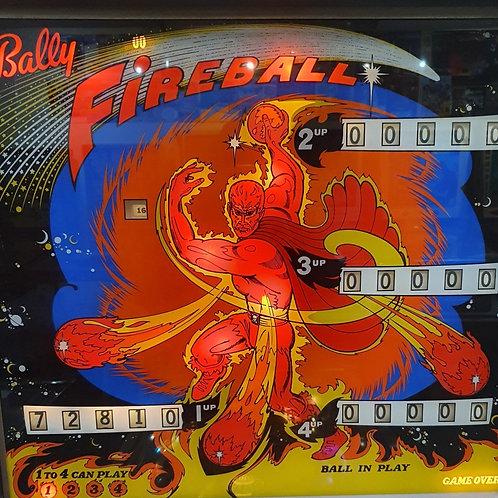 FIREBALL (Bally) 1972