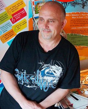 Giacomo Malvermi, proprietor and owner Pinball Creative London UK