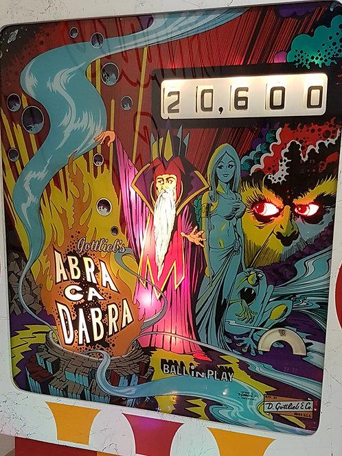 Abra Ca Dabra (Gottlieb) 1975