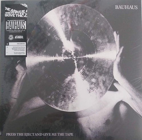 Bauhaus - Press the eject and...(vinil branco)