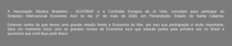 Simpósio Internacional Economia Azul