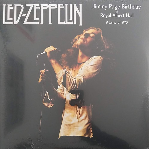 Led Zeppelin - Jimmy page birthday at Royal Albert Hall