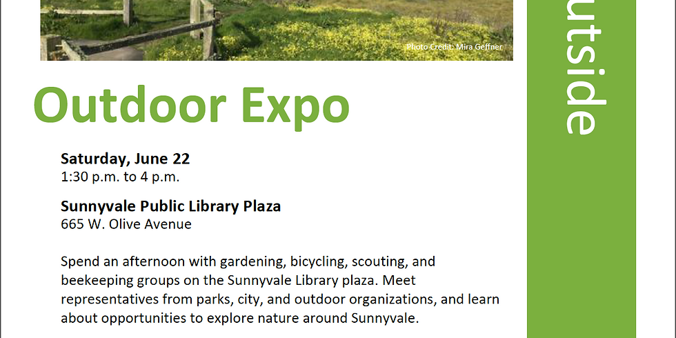 Sunnyvale Library Outdoor Expo