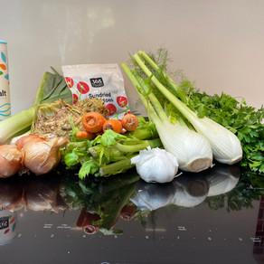 Fresh vegetable bouillon